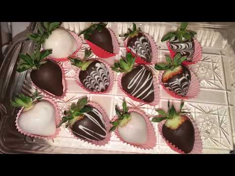 How To Make Chocolate Covered Strawberries | Valentines Day Ideas
