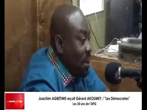Joachim AGBETIME reçoit Gérard AKOUMEY du parti « Les Démocrates »