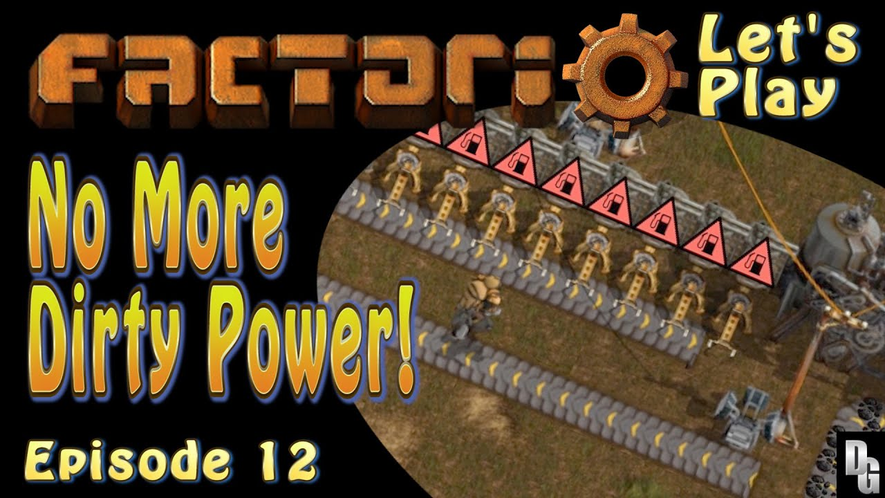 Factorio Let s Play ■Episode 12 ■Pulling the Plug on Steam