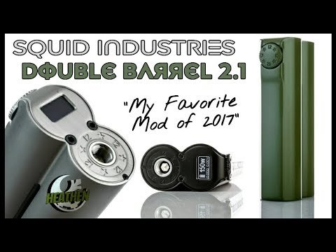 Double Barrel 2.1-Squid Industries I My Favorite Mod of 2017(so far)