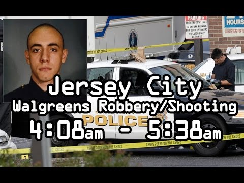 Jersey City Shooting Video Officer Melvin Santiago