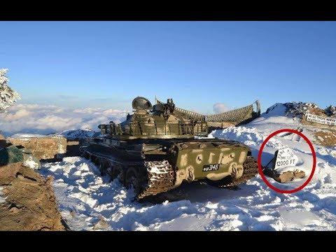 巴基斯坦海拔3657米边境出现中国坦克?有照片为证,印度怒火中烧