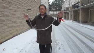 How to crack a chain like a whip 麒麟鞭-qilinbian