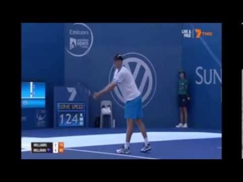 John Millman v R Williams 2015 Brisbane International Tennis
