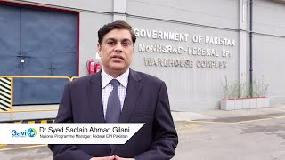 New cold chain equipment helps vaccine delivery in Pakistan