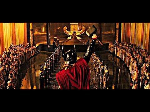 """THOR (2011) Scene: """"A fit companion...""""/Inauguration."""