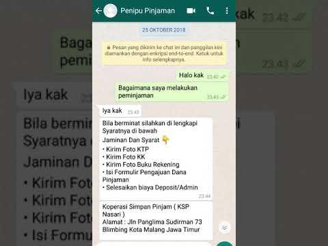 Penipu Pinjaman Online Youtube