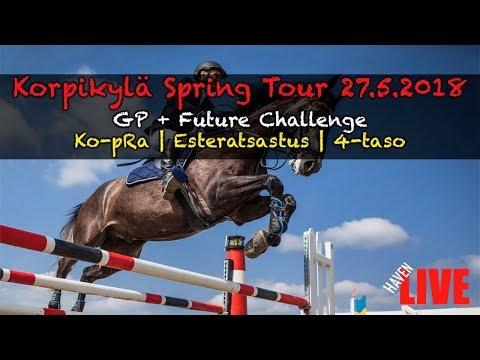 🔴 LIVE | SU | Korpikylä Spring Tour | 27.5.2018 | GP + Future Challenge