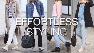 5 tips for effortless styling | Effortless style series