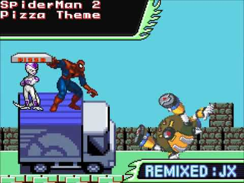 Spiderman 2 The Game Pizza Theme Famitracker 8 Bit 2a03 Remix