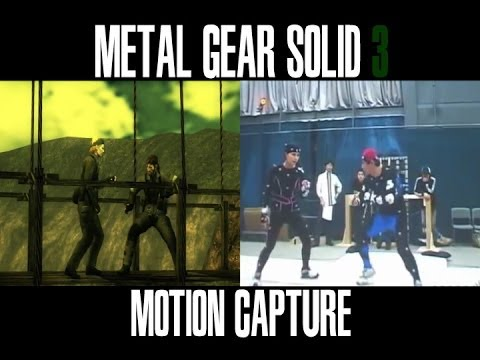 mgs4 nude motion capture