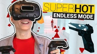 NEW SUPERHOT ENDLESS MODE! | Superhot VR Forever (HTC Vive Gameplay)