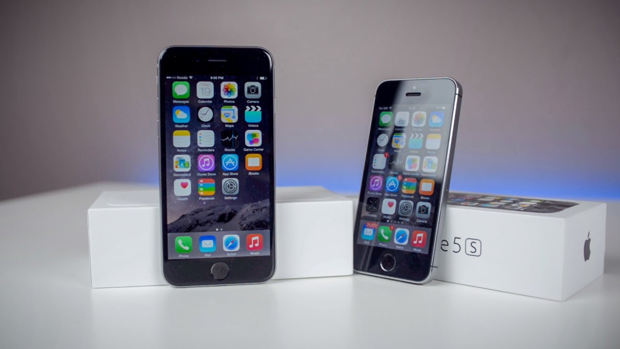 iphone 6 vs iphone 5s design comparison space grey youtube. Black Bedroom Furniture Sets. Home Design Ideas
