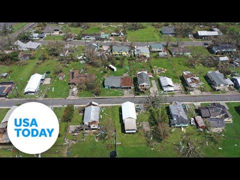 President Biden visits Louisiana to witness Hurricane Ida damage | USA TODAY