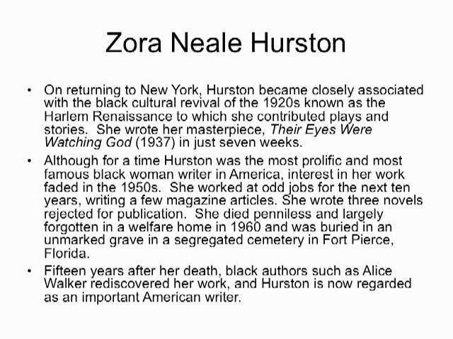 the theme of feminism in sweat a short story by zora neale hurston Zora neale hurston and short stories i am providing a complete list of short stories written by zora neale hurstoneven though many anthologies sweat.