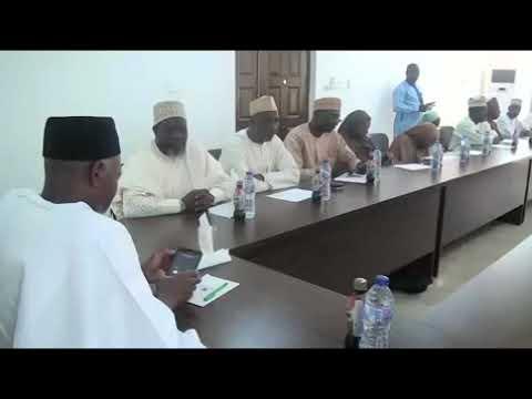 Kaduna State Muslim Pilgrims Welfare Board Visit To Some Media Houses In Kaduna