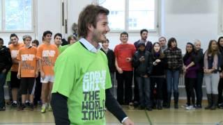 David Beckham überrascht Stadtzürcher Schulklasse