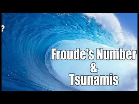 Froude number & Tsunamis