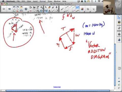 Work, Energy & Power Worksheet Problem 7 - YouTube