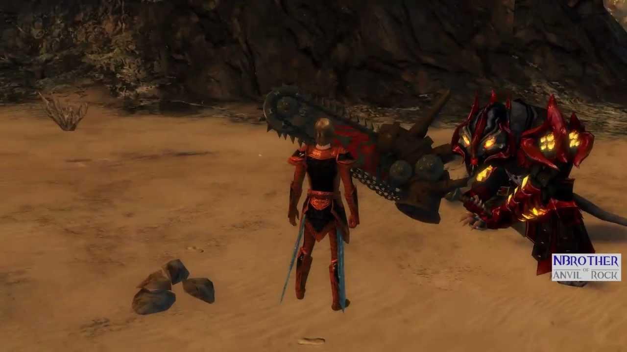 Guild Wars 2 - HD | Greatsaw: Halloween Chainsaw ...