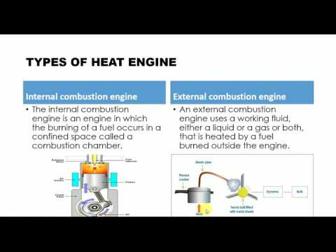 DIFFERENCE BETWEEN INTERNAL COMBUSTION ENGINES AND EXTERNAL COMBUSTION ENGINES