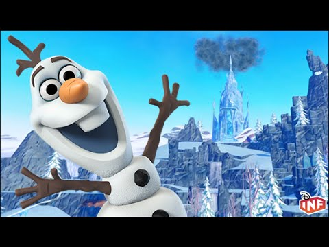 Olaf: A Frozen Adventure a Disney Infinity Toy Box preview
