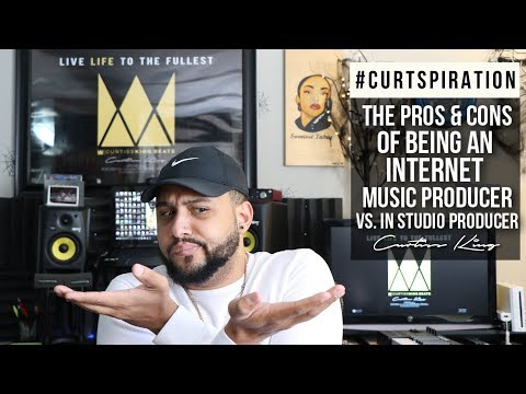 ONLINE Music Producer Vs. Industry Music Producer (Pros and Cons) #Curtspiration