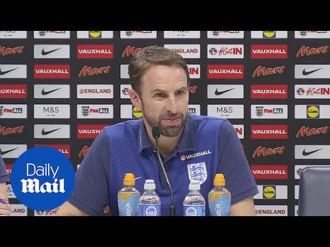 England manager Gareth Southgate previews Brazil friendly - Daily Mail