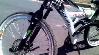 minha bike antes e depois zika mesmo