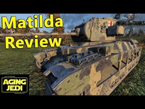 Matilda (British) Tier 4 Medium Tank Guide & Review - World of Tanks