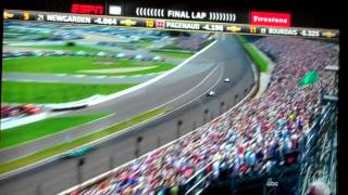 2015 Indycar Indianapolis 500 FINISH