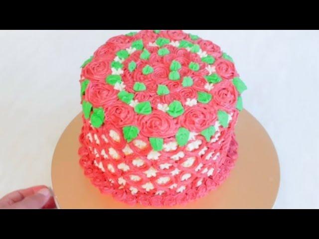 பிறந்த நாள் கேக்🎂வீட்டிலேயே ஐசிங் கேக் செய்வது எப்படி பட்டர் ஐசிங் கேக்home made birthday icing cake