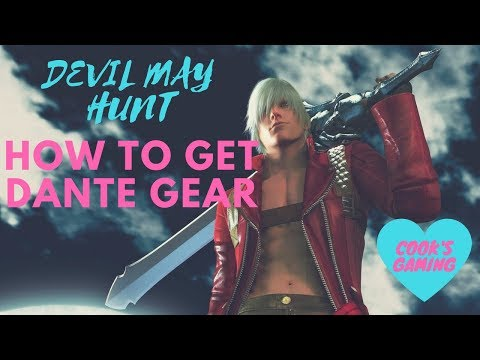 Monster Hunter World - How to get Dante Gear
