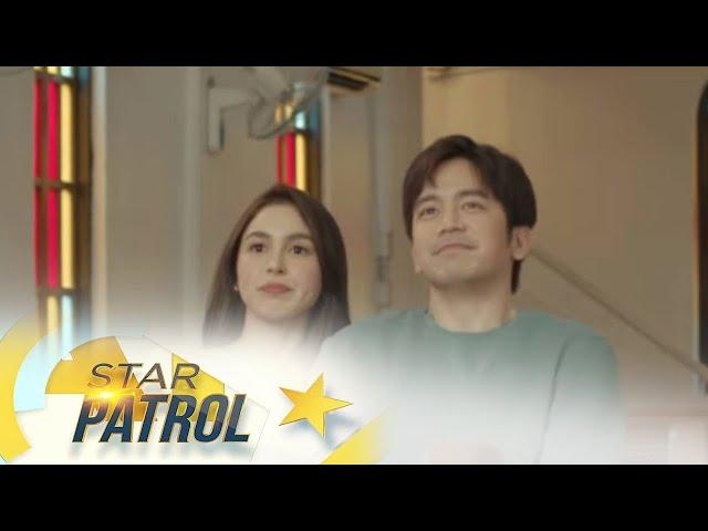 Joshua at Julia, co-writers ng dialogue sa 'Paubaya' music video | Star Patrol
