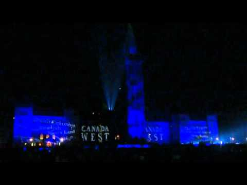 Mosaika Light Show on Parliament Hill (Whole Centre Block)[30 mins]