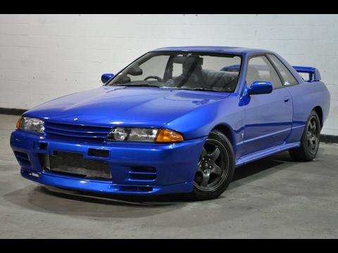 1989 Nissan Skyline Gt R Bayside Blue 3560 Youtube
