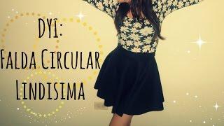 DIY / Falda Circular (Sin Maquina de Coser) - Mapo ♥