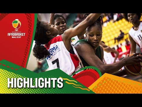 Mozambique v Mali - Highlights - 3rd Place - FIBA Women's AfroBasket 2017