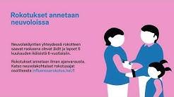 Influenssarokotukset Helsingissä 2019
