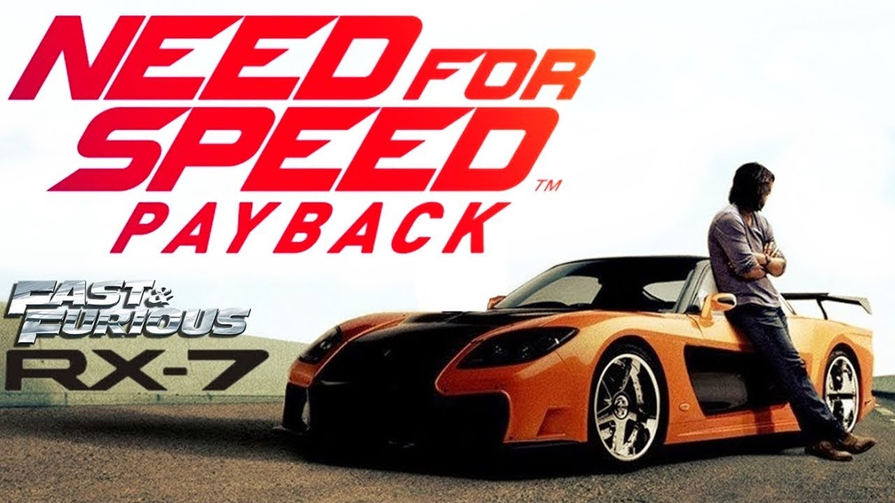NFS PAYBACK Mazda RX 7 Veilside VF TOKYO DRIFT YouTube