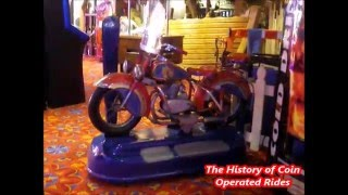 1960s Coin Operated Motorcycle Kiddie Ride