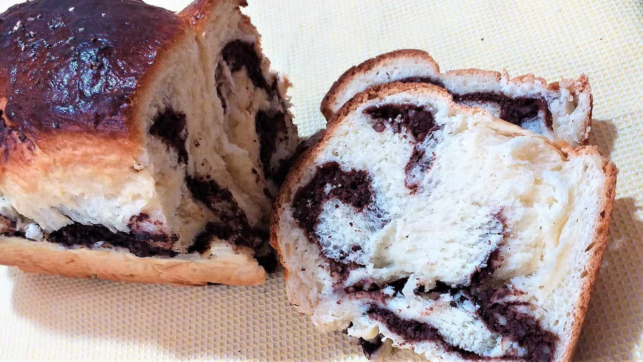 Pan dulce casero delicioso-COZONAC cu Nuca si Cacao delicios/Sweet Bread @Recetas faciles
