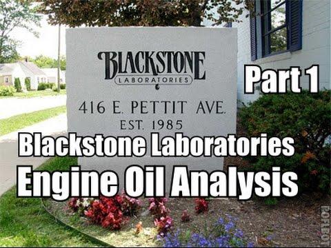 Part 1 Blackstone Labs Engine Oil Analysis