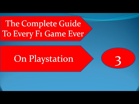 The Complete Guide To Every F1 Game On Playstation Ever Part 3