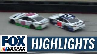 Danica Patrick and David Ragan Crash | 2017 BRISTOL | FOX NASCAR