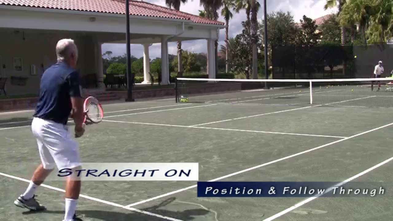 USTA Florida Go Pro Tennis Tips: Return of Serve - YouTube
