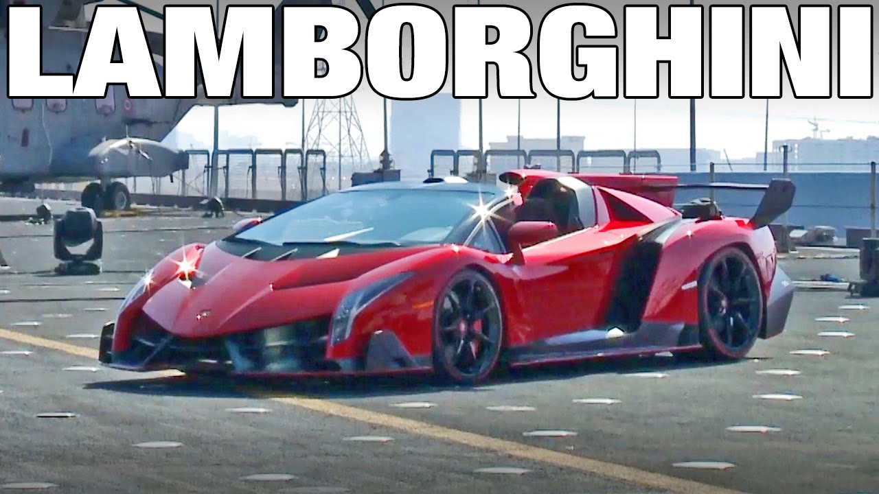 Lamborghini Veneno Roadster World Premiere Youtube
