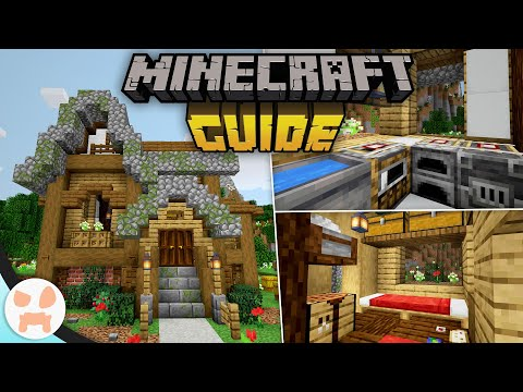 Starter House + BUILD INTERIOR TRICKS!   The Minecraft Guide - Tutorial Lets Play (Ep. 7)