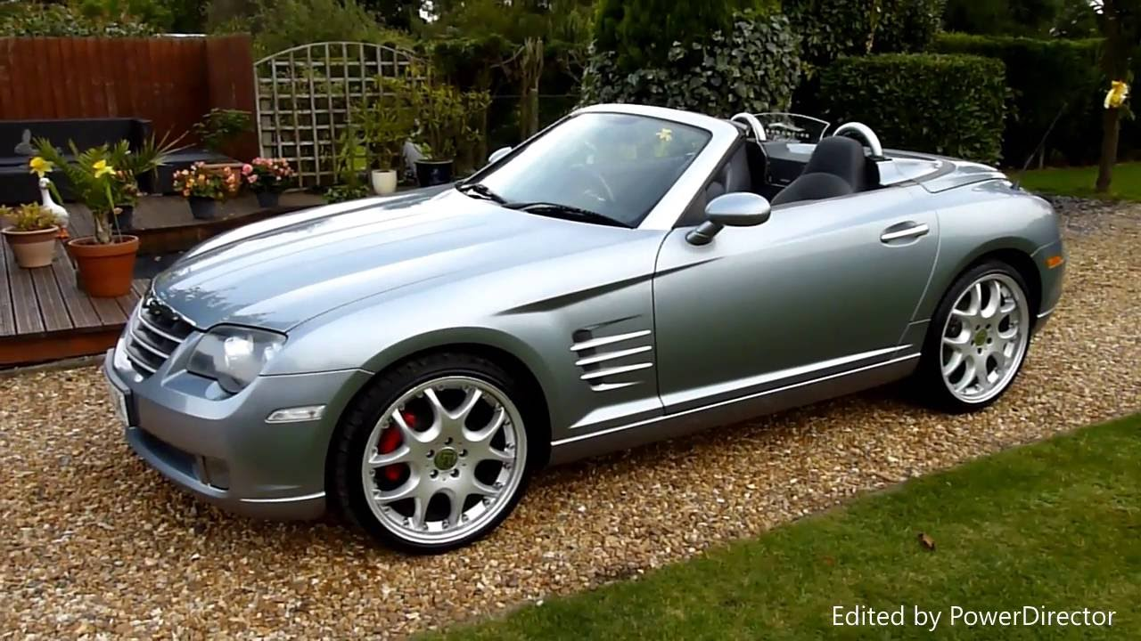 video review of 2005 chrysler crossfire convertible for sale sdsc specialist cars cambridge uk. Black Bedroom Furniture Sets. Home Design Ideas