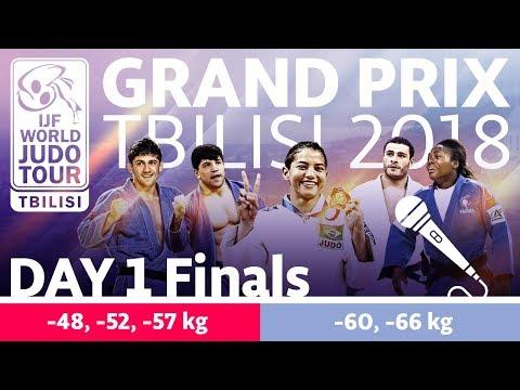 Judo Grand-Prix Tbilisi 2018: Day 1 - Final Block